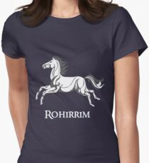 White horse of Rohan Women's Fitted T-Shirt