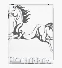 White horse of Rohan iPad Case/Skin