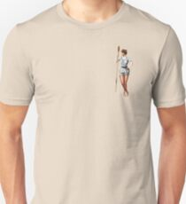 Rower With An Oar Unisex T-Shirt