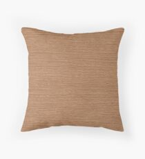 Sand Copper Throw Pillow
