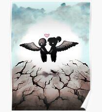 The World Comes Crashing Down Poster