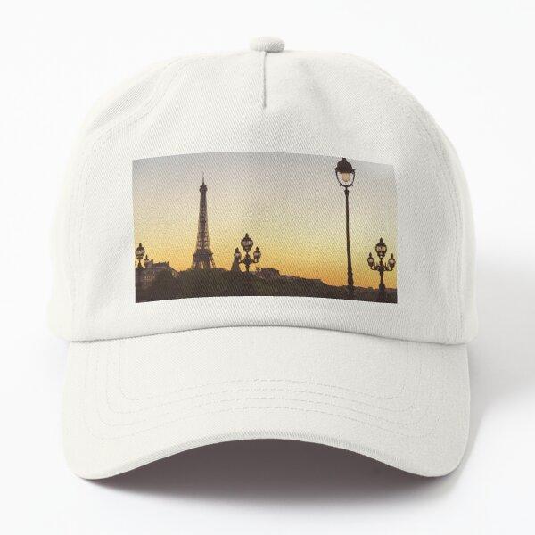 Paris Sunset Dad Hat