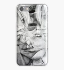 Memories of yesterday, 2016, 50-70cm, graphite crayon on paper iPhone Case/Skin