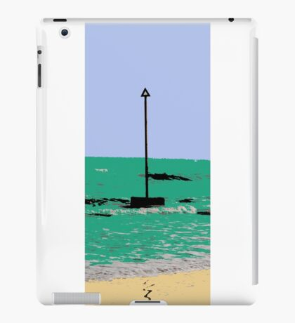 artistic licence on the sea, summer sun and seaside  iPad Case/Skin