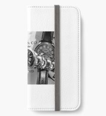 Time waits for no man iPhone Wallet/Case/Skin