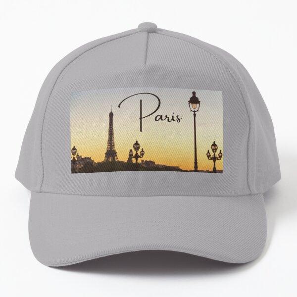 Paris Sunset Baseball Cap