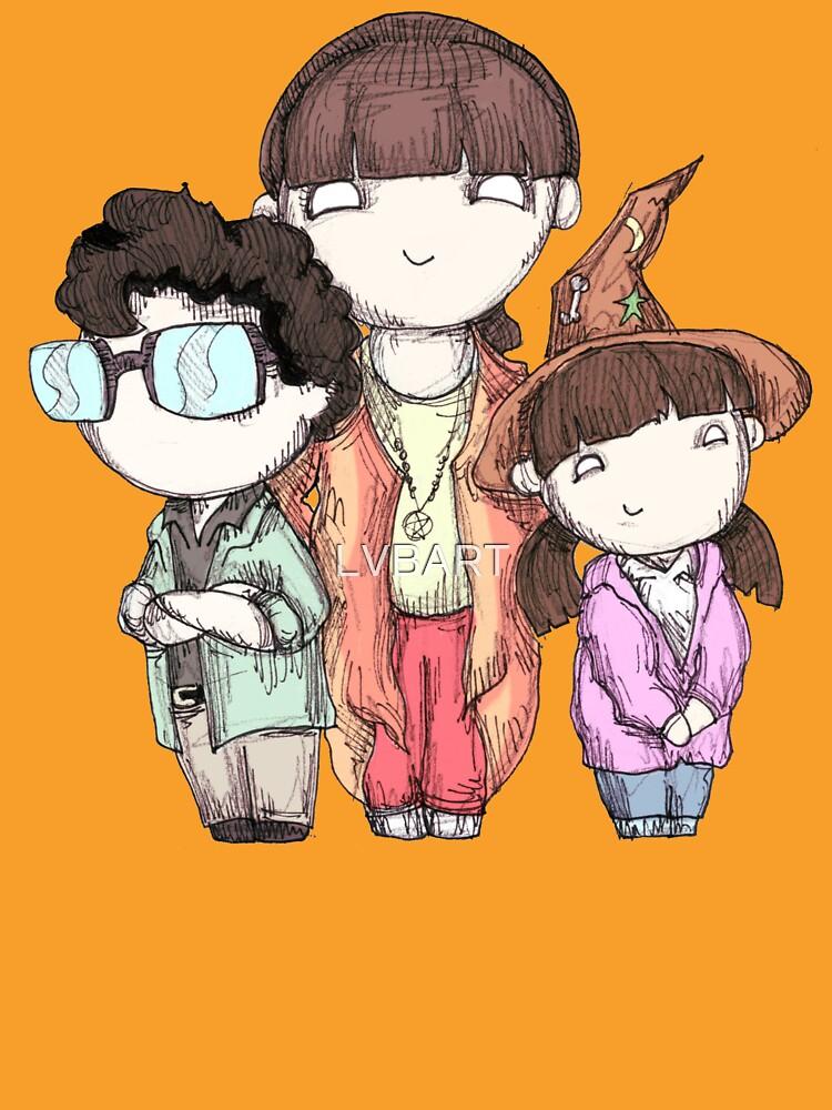 Halloween Kids by LVBART