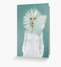 Pale Dreamer Greeting Card