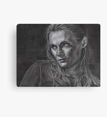 Kate Beckett - Kill shot Canvas Print