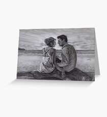 Castle and Beckett - Honeymoon Greeting Card
