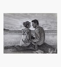 Castle and Beckett - Honeymoon Photographic Print