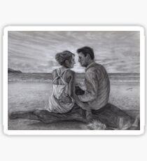 Castle and Beckett - Honeymoon Sticker