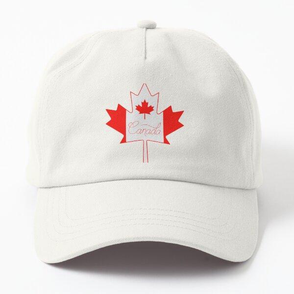 Canada Leaf Script  Dad Hat
