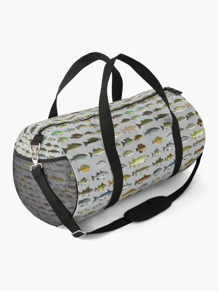 Alternate view of North American Freshwater Fish Group Duffle Bag