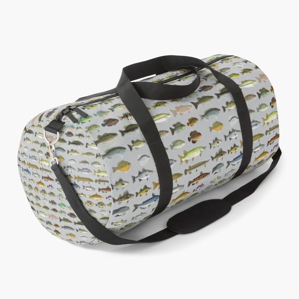 North American Freshwater Fish Group Duffle Bag