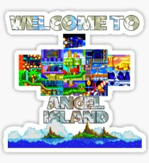 Welcome to Angel Island Sticker