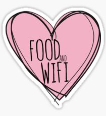 Food and wifi Sticker