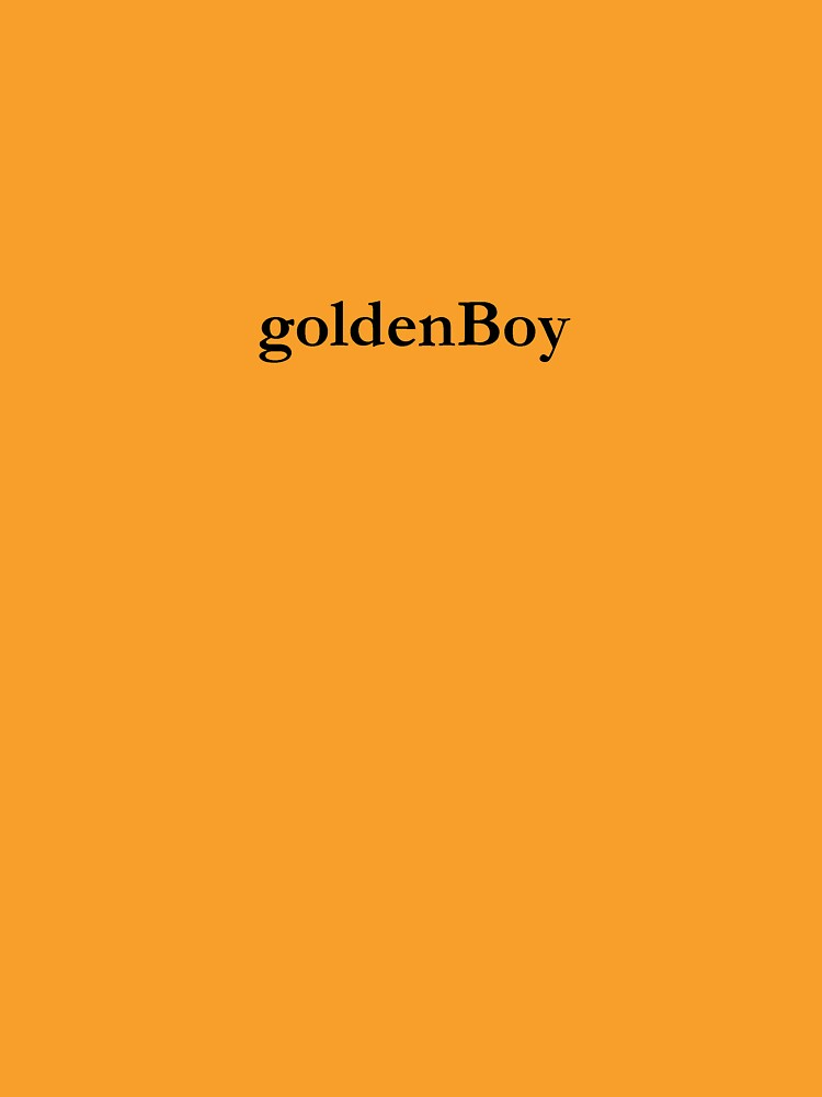 Golden Boy by mosesdesigns