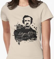 Edgar Allan Poe - Poe the Raven - The Following - Brilliant and Dark World of Poe Womens Fitted T-Shirt