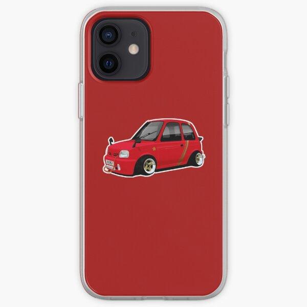 Shakotan Nissan Micra K11 iPhone Soft Case