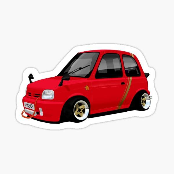 Shakotan Nissan Micra K11 Sticker