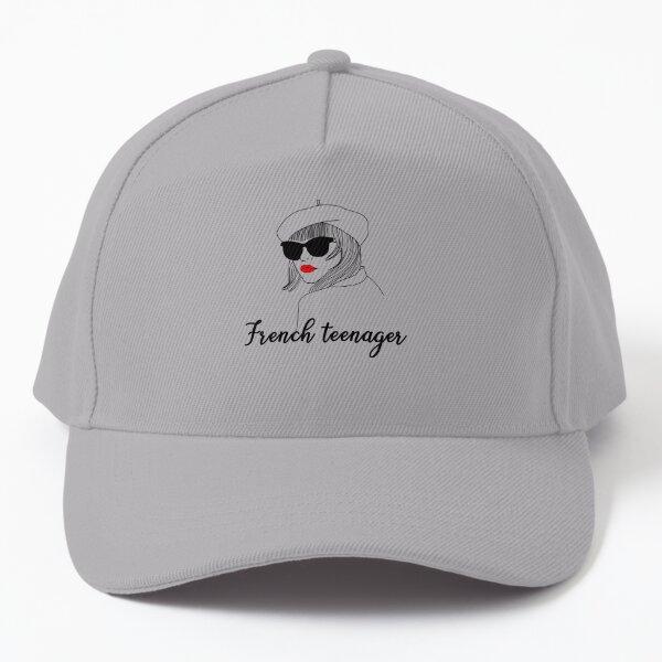 french teenager Baseball Cap