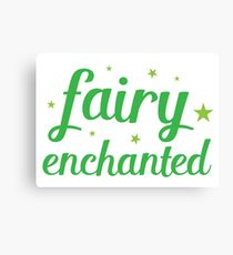 fairy enchanted Canvas Print