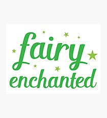fairy enchanted Photographic Print