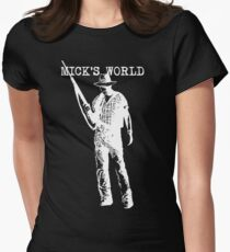 Mick's World Womens Fitted T-Shirt