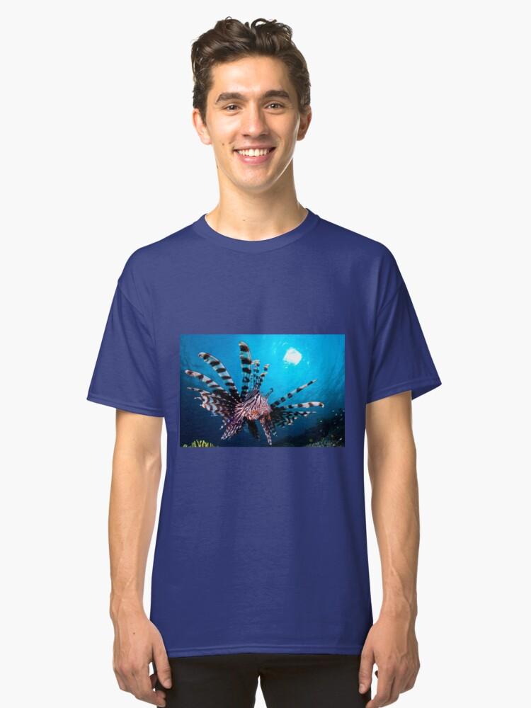 Lionfish, Wakatobi National Park, Indonesia Classic T-Shirt Front