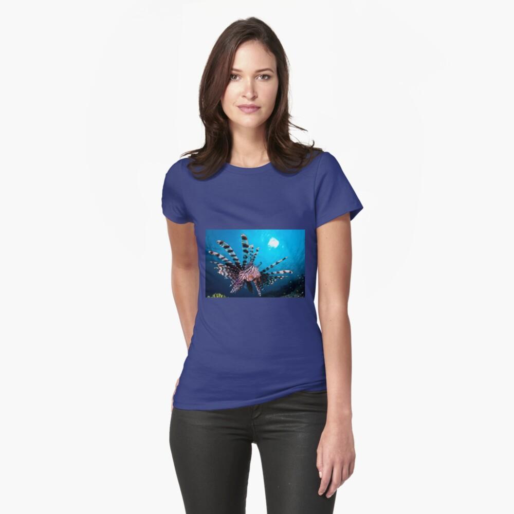Lionfish, Wakatobi National Park, Indonesia Womens T-Shirt Front