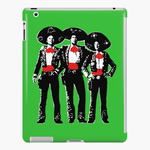Three Amigos - Pop Art on Green iPad Snap Case
