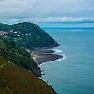Lynmouth North Devon by Chris Thaxter