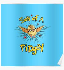 Son of a Pidgey Poster