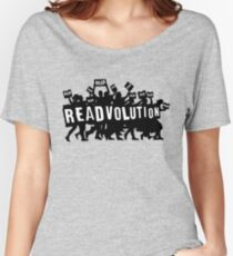 READVOLUTION Women's Relaxed Fit T-Shirt