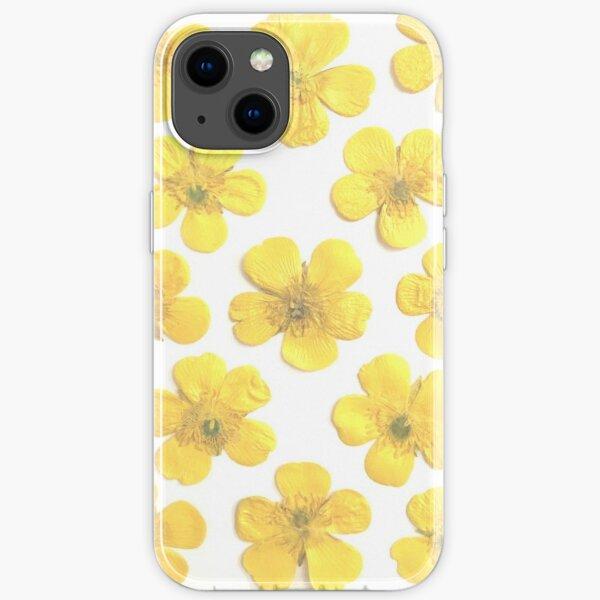 Gepresste Blumen - Country Buttercups Floral iPhone Flexible Hülle
