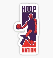 Hoop Nation Sticker