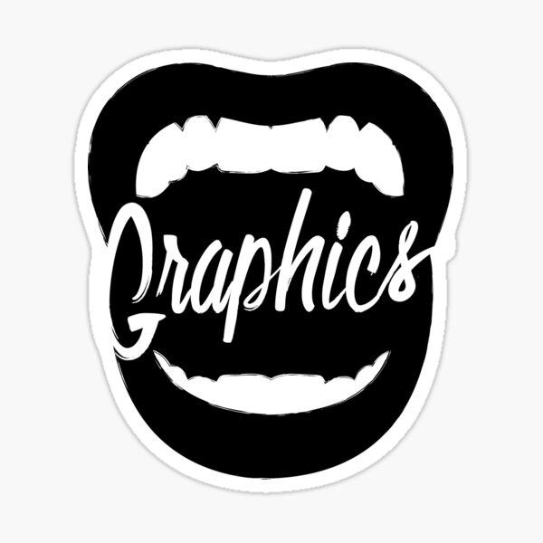 Shout! Graphics Logo Sticker
