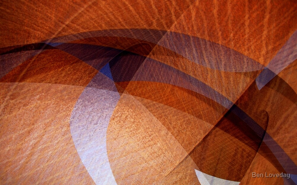 Rust Abstract by Ben Loveday