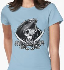 Never Say Die - One Eyed Willie Womens Fitted T-Shirt