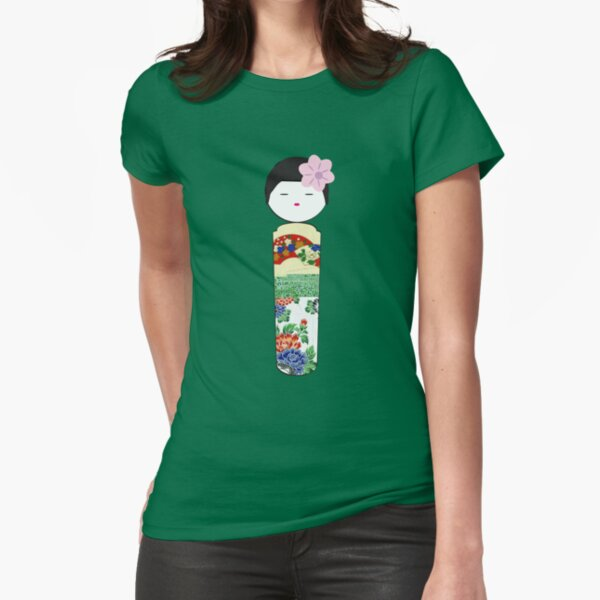 Lovely lady Fitted T-Shirt
