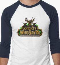 World of Ni-Craft Men's Baseball ¾ T-Shirt