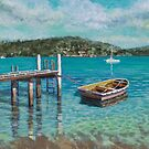 Incoming tide Oatley Bay by Freda Surgenor
