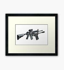 Automatic Rifle Framed Print