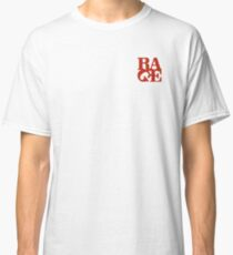 Rage Simple Logo Classic T-Shirt