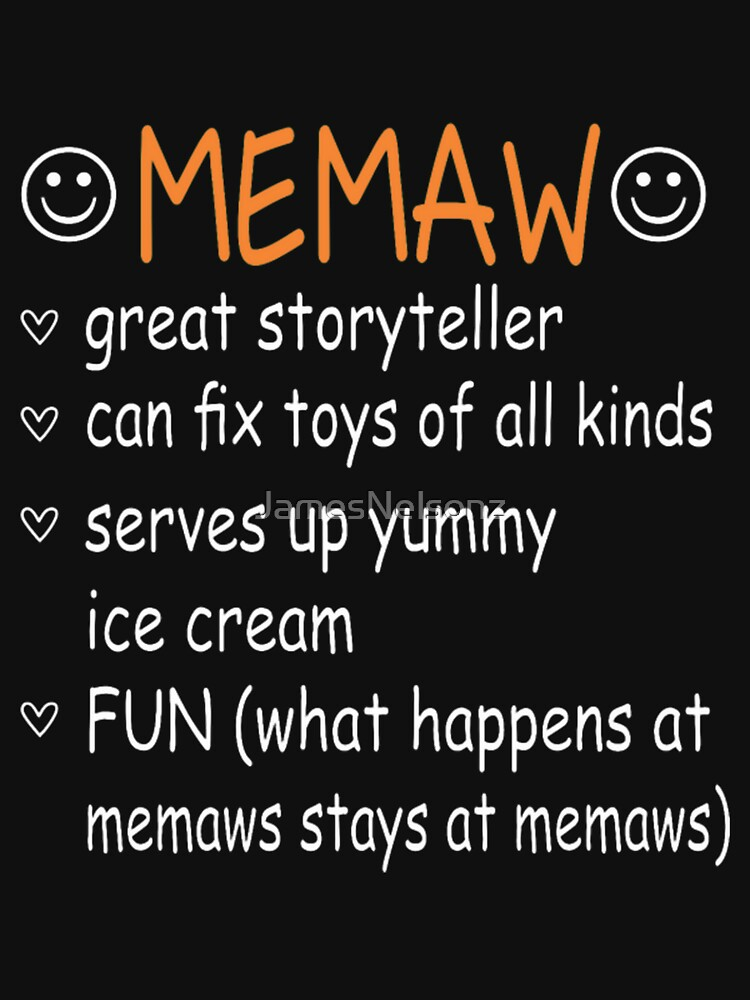 Memaw Great Storyteller Fix Toys Serves Ice Cream by JamesNelsonz