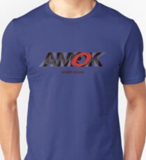 AMOK - south island Unisex T-Shirt