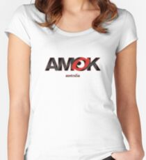 AMOK - australia Women's Fitted Scoop T-Shirt