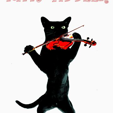 Kitty Fiddler by blackdalek