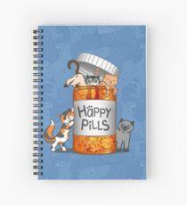 Happy Pills Spiral Notebook